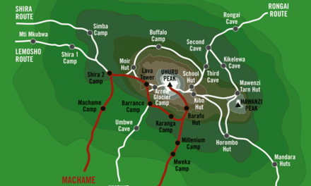 The Machame Route