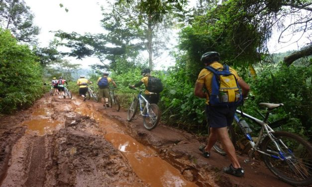 Kilimanjaro cycling tour