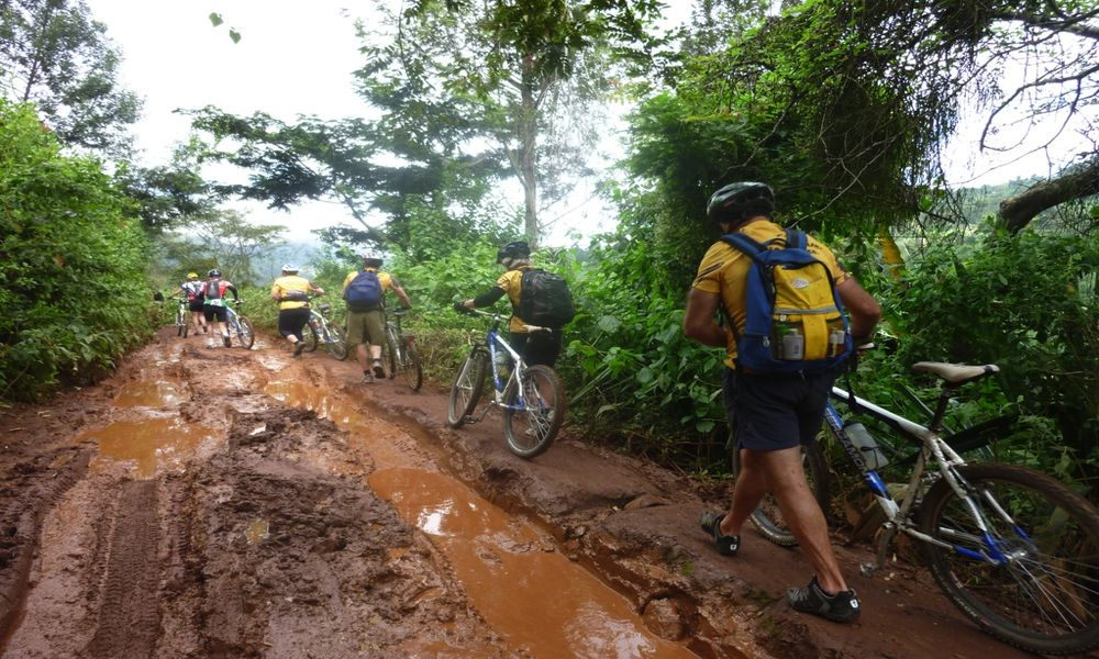 Tanzania West Kilimanjaro cycling tour